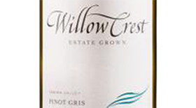 Willowcrest Pinot Gris Label