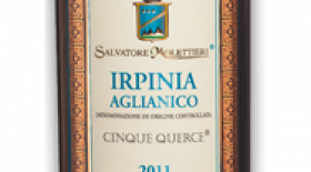 Irpania D.O.C. Aglianico Label