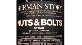 Herman Story Nuts & Bolts 2011 Label