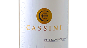 Cassini Cellars 2012 Sauvignon Blanc Label