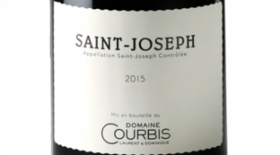 Domaine Courbis Saint-Joseph 2015 Label