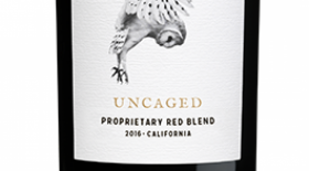 Z. Alexander Brown Wines 2016 Uncaged Proprietary Red Blend Label