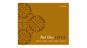 Not One iOTA Label