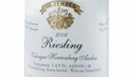Riesling Auslese Label