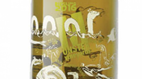 Monster Vineyards 2016 Riesling Label