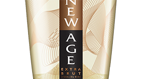 New Age Extra Brut Label
