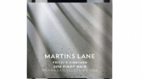 Martin's Lane Winery Fritzi's Vineyard 2014 Pinot Noir | Red Wine