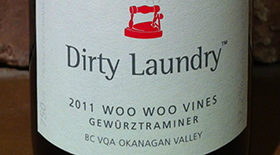 Dirty Laundry Vineyard 2011 Gewürztraminer Label