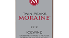 Moraine Twin Peaks Ice Wine 2013 Label
