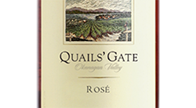 Quails' Gate Winery 2013 Gamay Noir blend Label