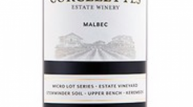 Corcelettes Estate Winery 2016 Malbec Label