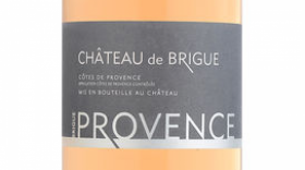 Château de Brigue Rosé Label