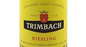 Trimbach 2012 Riesling Label