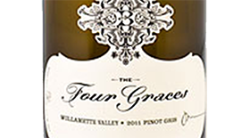 The Four Graces 2011 Pinot Gris (Grigio) Label