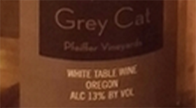 Grey Cat | White Wine