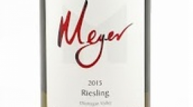 Meyer Family Vineyards 2015 Riesling Label