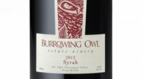 Burrowing Owl Estate Winery 2012 Syrah (Shiraz) Label