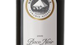 Summerhill Pyramid Winery 2011 Baco Noir Label