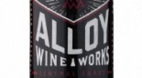 Alloy Wine Works 2014 Pinot Noir Label