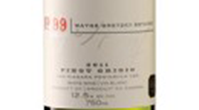Wayne Gretzky Estates No.99 2012 Pinot Grigio Label