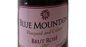 Blue Mountain Vineyard and Cellars 2007 Blend Label