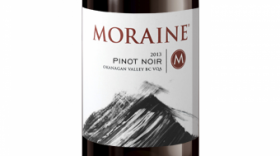 Moraine Estate Winery 2016 Pinot Noir Label