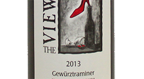 The View Winery 2013 Gewürztraminer Label
