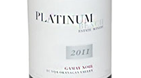 Platinum Bench Estate Winery & Artisan Bread Co. 2011 Gamay Noir Label