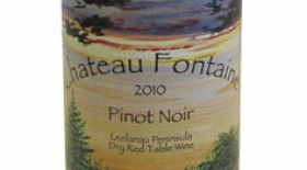 Chateau Fontaine Pinot Noir Label