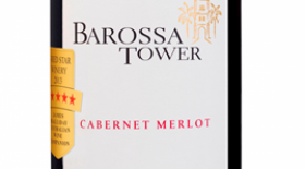 Chateau Tanunda 2015 Barossa Tower Cabernet Merlot Label