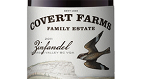 Covert Farms Family Estate 2011 Zinfandel Label