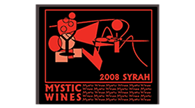 Mystic Wines 2008 Syrah (Shiraz) Label