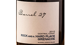Rock and a Hard Place Label