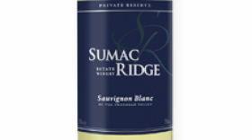 Sumac Ridge Estate Winery 2016 Sauvignon Blanc Label