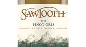 Sawtooth Pinot Gris Label