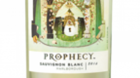 Prophecy Marlborough Sauvignon Blanc Label