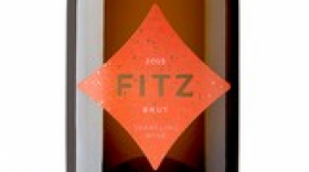 Fitzpatrick Family Vineyards 2015 Fitz Brut Label