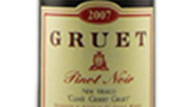 Gruet Winery 2010 Pinot Noir Label