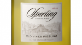Sperling Vineyards 2014 Old Vines Riesling Label
