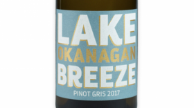 Lake Breeze Vineyards 2017 Pinot Gris Label