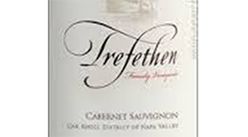 Trefethen Family Vineyards 2011 Cabernet Sauvignon Label