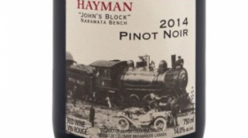 Kettle Valley Winery 2014 Hayman Pinot Noir Label