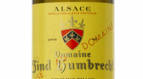 Domaine Zind-Humbrecht Riesling Thann 2013 Label