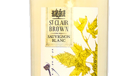 St. Clair Brown 2010 Sauvignon Blanc Label