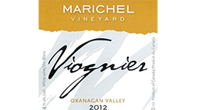 Marichel Vineyard & Winery 2012 Viognier | White Wine