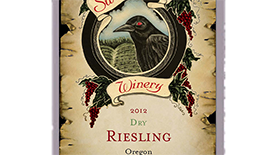 Sweet Cheeks Winery 2012 Dry Riesling Label