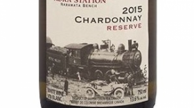 Kettle Valley Winery 2015 Adra Station Chardonnay Reserve Label