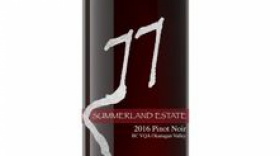 Summerland Estate Winery and B&B 2016 Pinot Noir Label