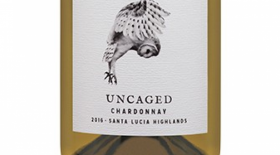 Z. Alexander Brown Wines 2016 Uncaged Chardonnay Label
