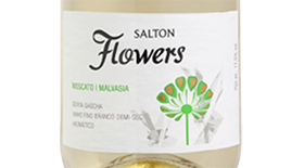 Salton Flowers Branco Demi-Sec Label